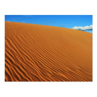 """Sand dune"" postcard"