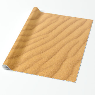Sand Dune Wrapping Paper