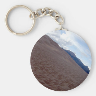 sand dunes 018 basic round button key ring