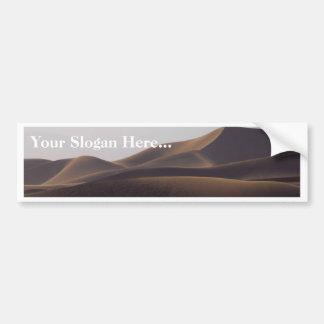 Sand Dunes At Sunset Bumper Sticker