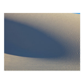 Sand dunes at White Sands National Monument in 4 Postcard