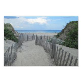 Sand Dunes Block Island Art Photo