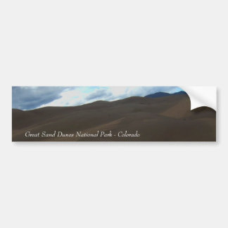 Sand Dunes Bumper Sticker