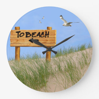 Sand Dunes image for Round Large Wall Clock