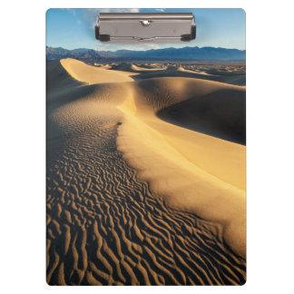 Sand dunes in Death Valley, CA Clipboard