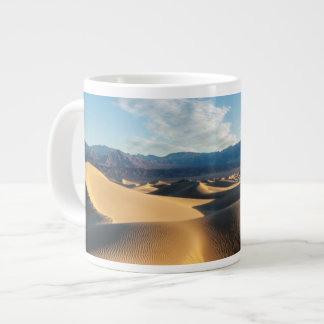 Sand dunes in Death Valley, CA Large Coffee Mug