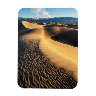 Sand dunes in Death Valley, CA Rectangular Photo Magnet