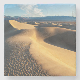 Sand dunes in Death Valley, CA Stone Coaster