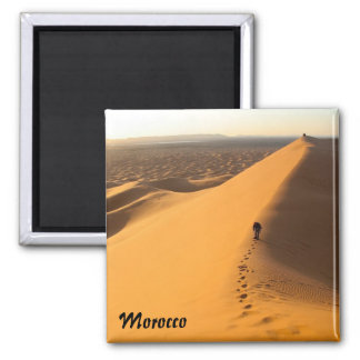 Sand Dunes in Morocco magnet