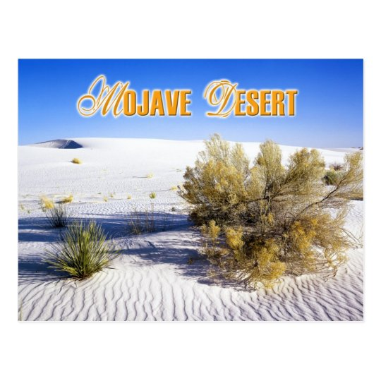 Sand Dunes in the Mojave Desert, California Postcard