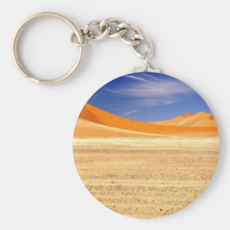 Sand dunes of Namibia Basic Round Button Key Ring