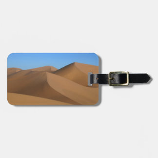 """""""sand dunes""""""""sand color"""" luggage tag"""