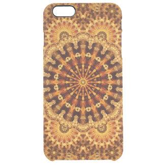 Sand & Flame Mandala Clear iPhone 6 Plus Case