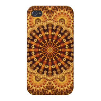 Sand & Flame Mandala Covers For iPhone 4