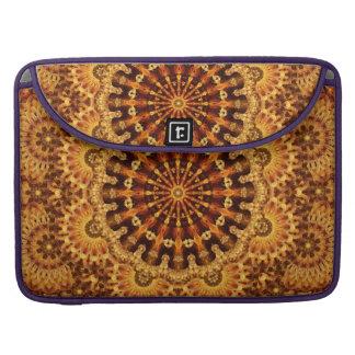 Sand & Flame Mandala Sleeves For MacBooks