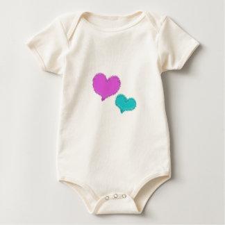 Sand Hearts Infant Tee Shirt