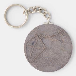 Sand Kite Keychain