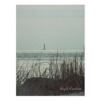 Sand Lighthouse, Gulf Coast, Alabama postcard
