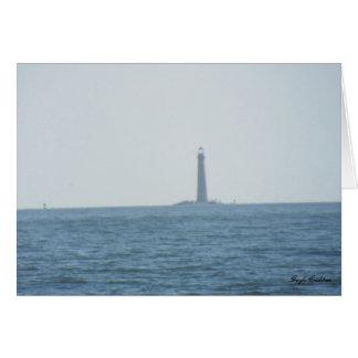 Sand Lighthouse Mobile, Alabama note card