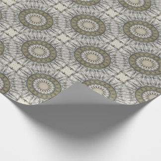 Sand Mandala Wrapping Paper
