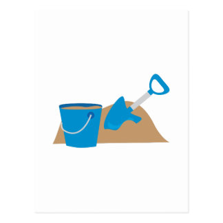 Sand Pile Postcard