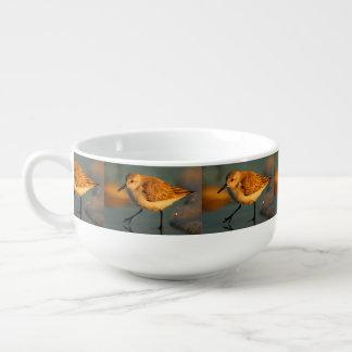 sand piper soup mug