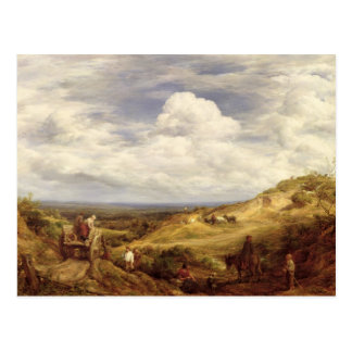 Sand Pits, Hampstead Heath, 1849 Postcard