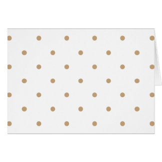 Sand Polkadots Small Card