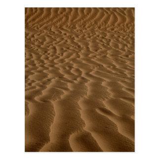 Sand ripples postcard