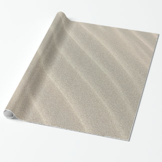 sand ripples wrapping paper