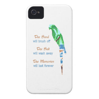 SAND SALT AND MEMORIES iPhone 4 COVER