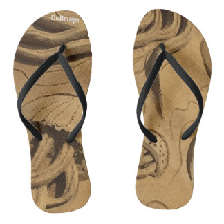 Sand Sculpture Denmark Thongs