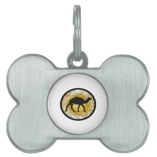Sand Storm Pet Name Tag