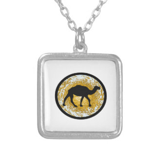 Sand Storm Silver Plated Necklace