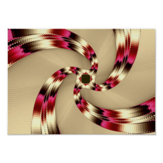 sand swirl poster