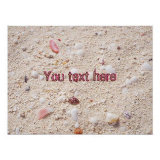 Sand Texture Poster