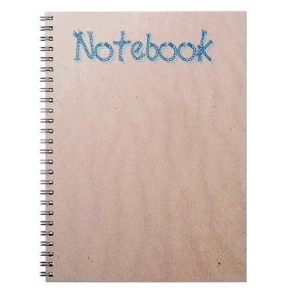 Sand Texture Spiral Notebook
