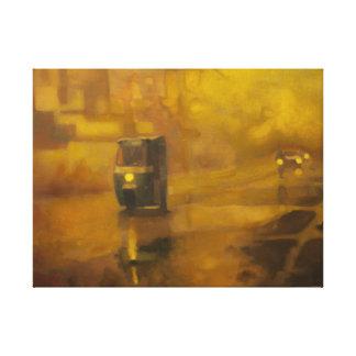Sanda Road, Oil on Canvas (Print) Canvas Print