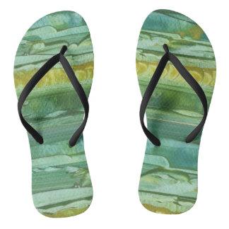 SANDAL, SLIPPER, FOOTWEAR MODERN ART BRAZIL THONGS