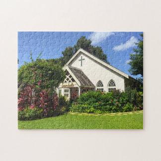 Sandals Chapel Jamaica. Jigsaw Puzzle
