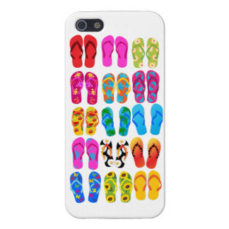 Sandals Colorful Fun Beach Theme Summer iPhone 5 Case