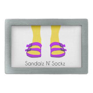 Sandalz N' Sockz Belt Buckle