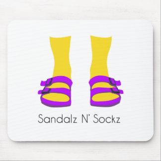 Sandalz N' Sockz Mouse Pad