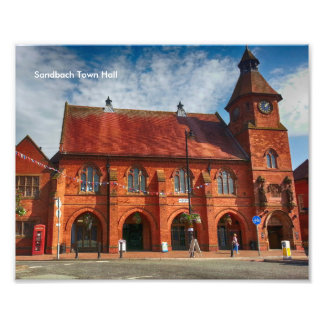 Sandbach Town Hall Photo Paper (Kodak, Satin)
