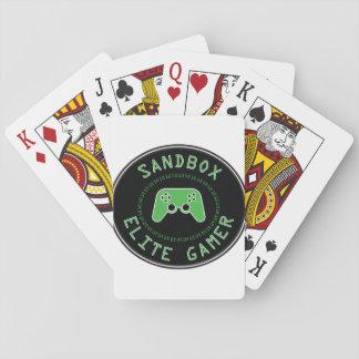 Sandbox Elite Gamer Playing Cards