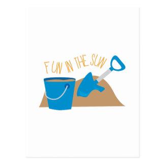 Sandbox Fun Postcard