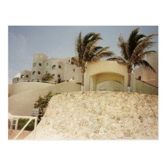 Sandcastle Cancun Postcard
