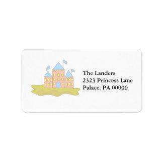 Sandcastles Address Label
