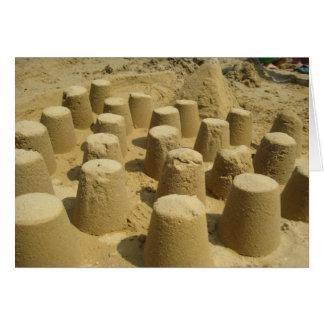 Sandcastles card