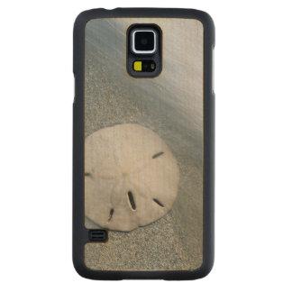Sanddollar on Beach | Sanibel Island, Florida Carved Maple Galaxy S5 Case
